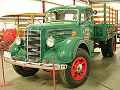Old Mack truck photo