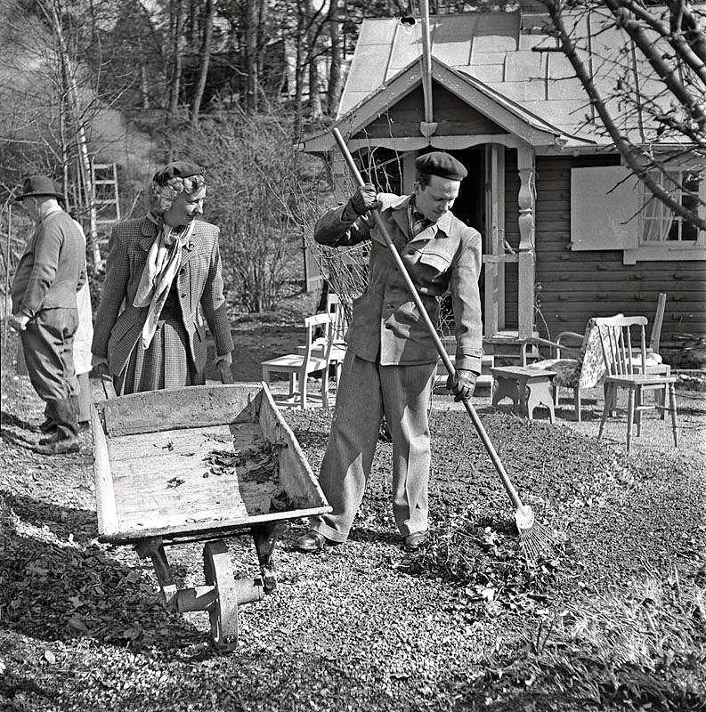 Kulturhistoria 1: Plantera där du står … men gräv först