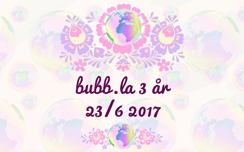 bubb.la tre år